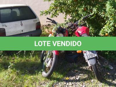 LOTE 005d - motocicleta Honda CG-125 Fan ES, placa IUB-3562